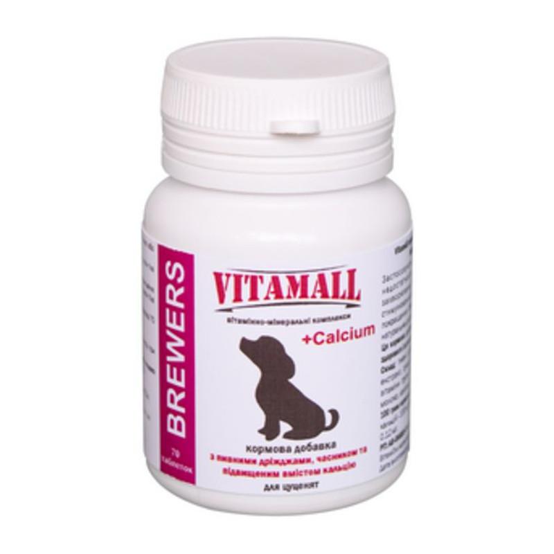 VitamAll (Витамол) Brewers Витаминно-минеральный комплекс для щенков