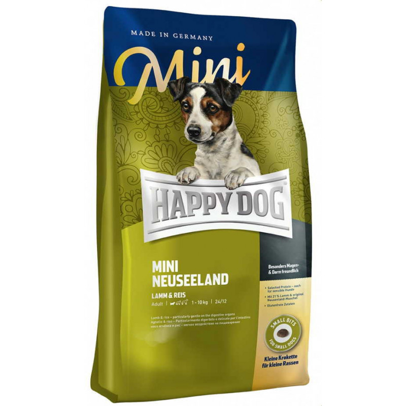 Happy Dog (Хеппи Дог) Mini Neuseeland - Сухой корм с ягнёнком для собак мелких пород