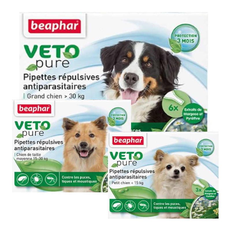 Beaphar (Биафар) Bio Spot On Dogs Натуральные противопаразитарные капли для собак
