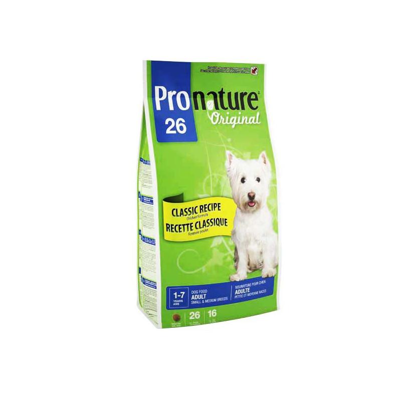Pronature Original КУРИЦА для взрослых собак малых и средних пород