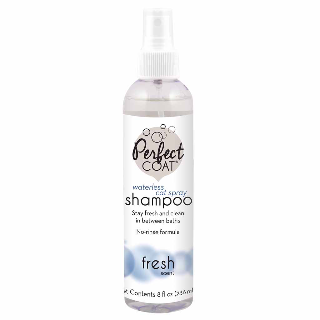 Perfect Coat (Перфект Коат) by 8in1 Waterless Cat Shampoo Spray. Шампунь для кошек, не требующий смывания