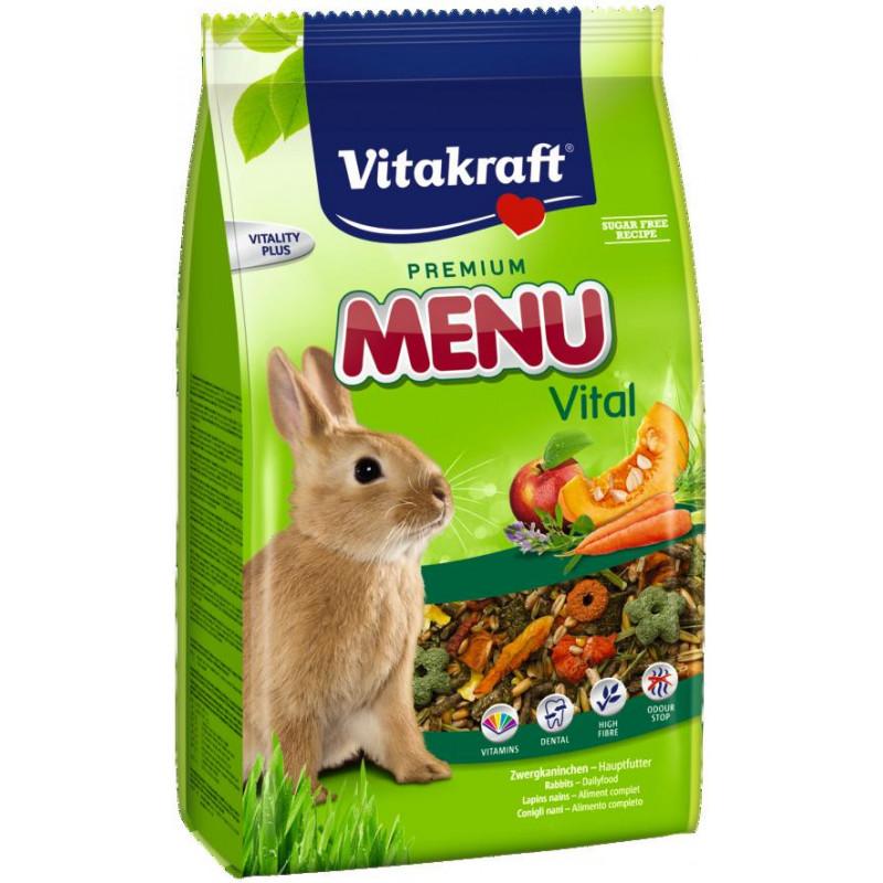 Корм VITACRAFT MENU VITAL для кроликов