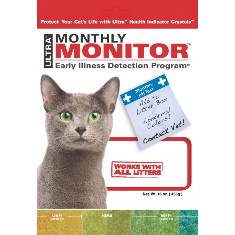 Индикатор мочи Litter Pearls Monthly Monitor