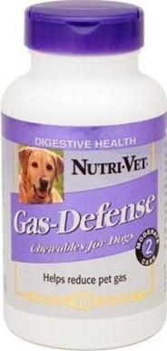 Добавка Nutri-Vet gas defense для собак От газообразования