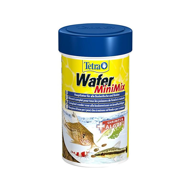 TETRA (Тетра) WAFER MINI MIX - Корм для донных рыб и ракообразных в чипсах