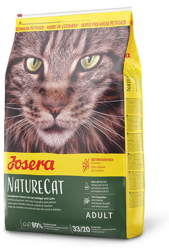 Josera (Йозера) Nature Cat - Сухой корм с лососем для котов с чувствительным пищеварением