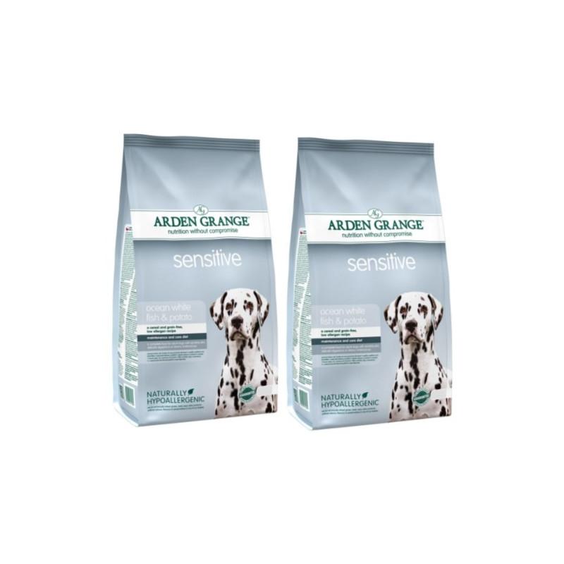 Arden Grange Adult Sensitive Беззерновой корм для собак с чувствительным пищеварение