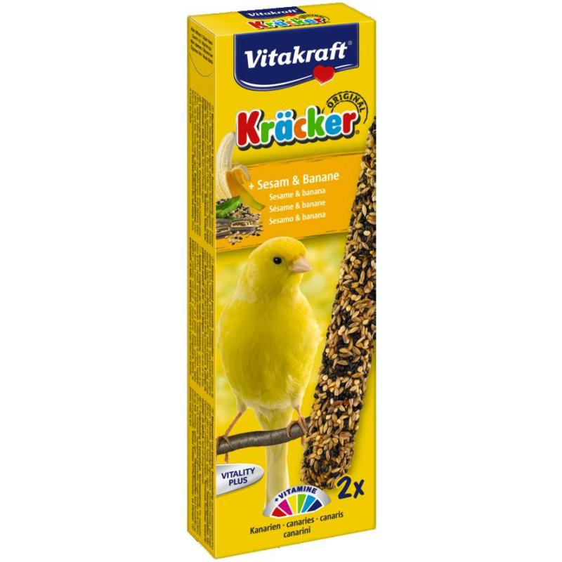 Крекер VITACRAFT для канареек с бананом и кунжутом