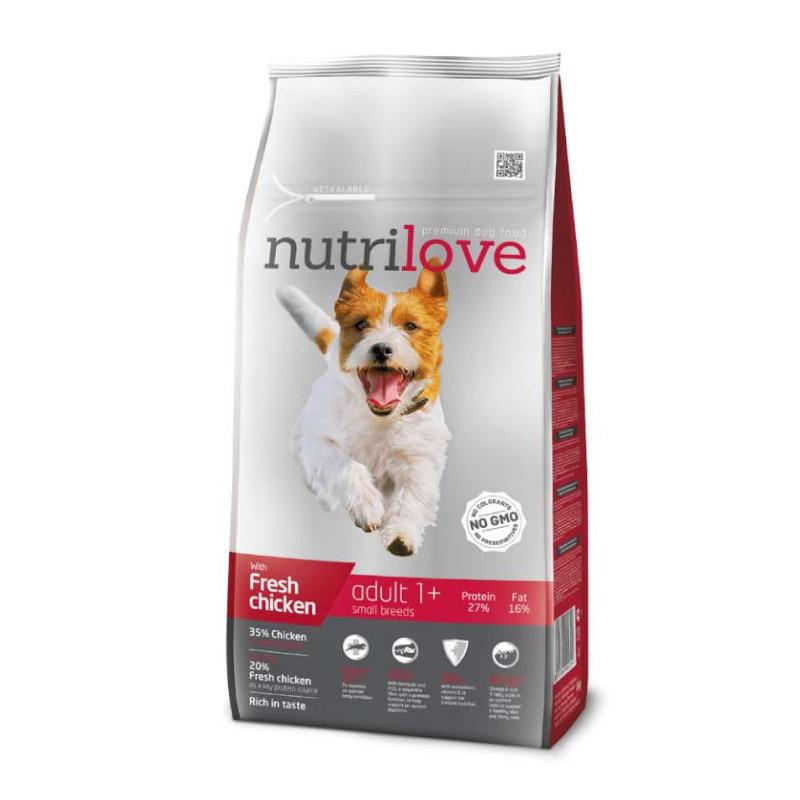 Nutrilove (Нутрилав ) Adult Small Breeds - Корм для взрослых собак малых пород с курицей и рисом