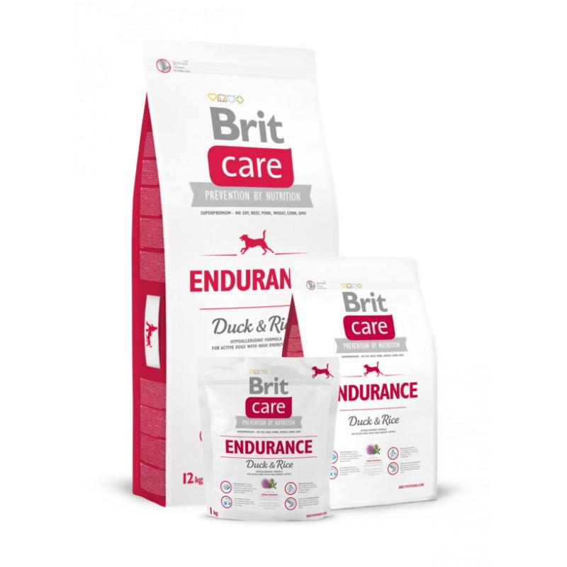 Brit Care (Брит Кеа) ENDURANCE корм для активных собак (утка/рис)