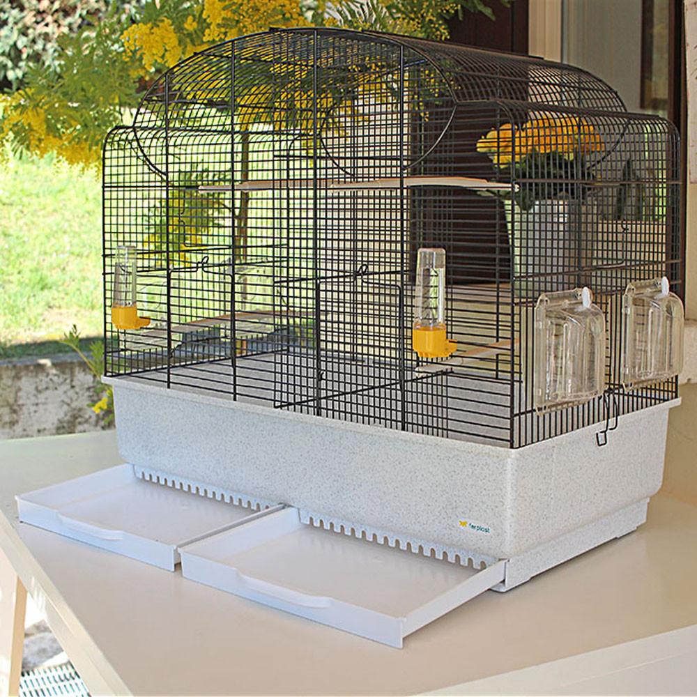 Ferplast (Ферпласт) Canto - Клетка с разделительной панелью для канареек и других мелких экзотических птиц - Фото 2