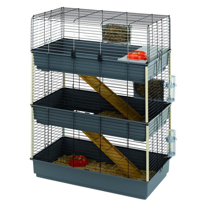 Клетка для средних грызунов Ferplast (Ферпласт) Rabbit 100 Tris