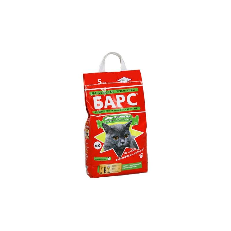Барс №3 - Наполнитель стандарт для кошачего туалета с ароматом лаванды