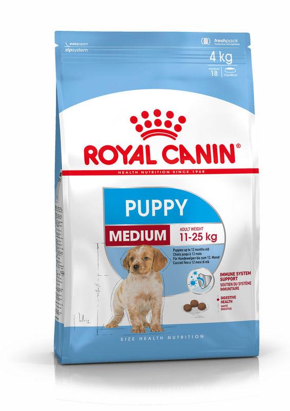 Royal Canin (Роял Канин) Medium Puppy - Сухой корм мясом птицы для щенков собак средних пород