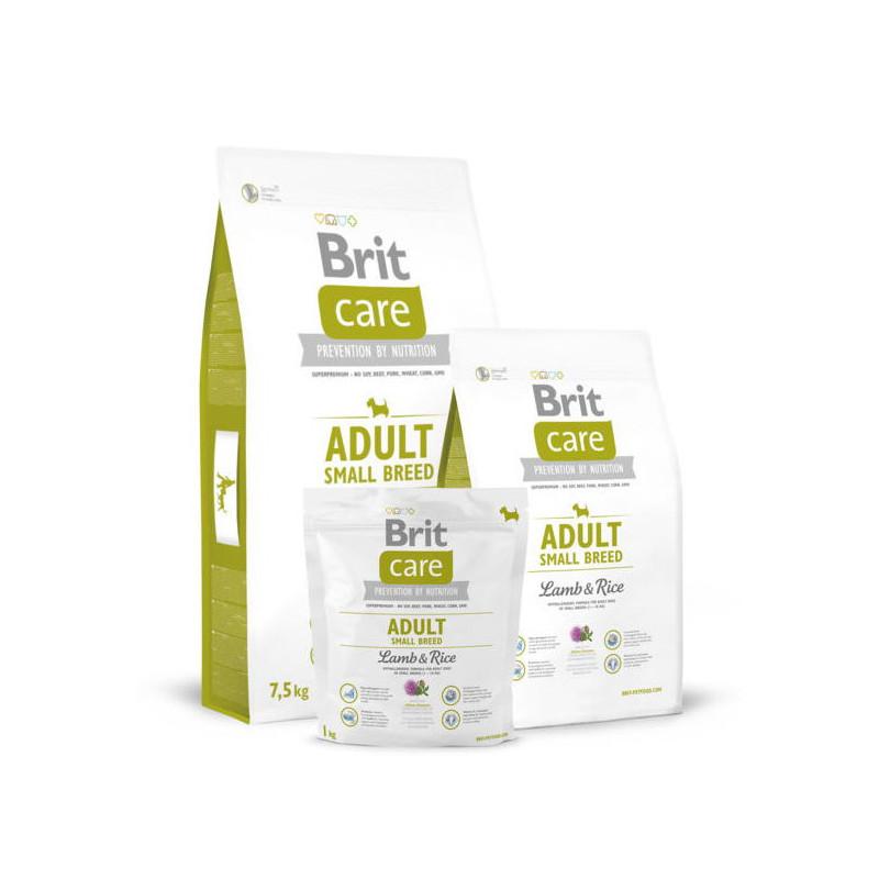 Brit Care (Брит Кеа) ADULT SMALL BREED Lamb&Rice для собак мелких пород (ягненок/рис)