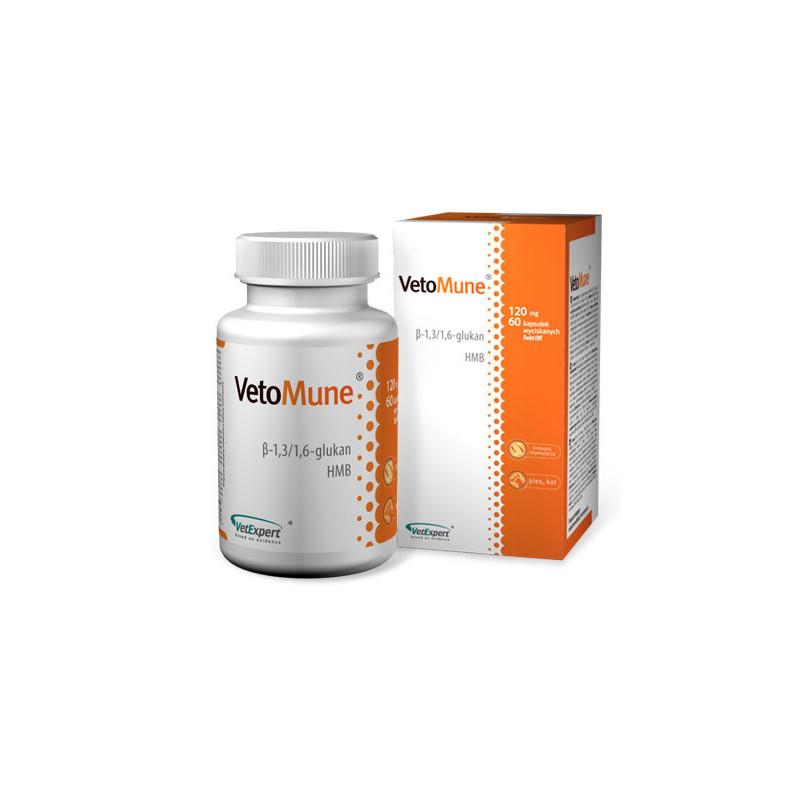 VetExpert (ВетЭксперт) VetoMune Пищевая добавка для поддержания иммунитета у кошек и собак