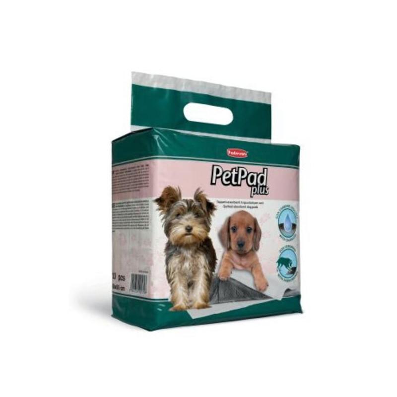 Padovan PETPAD PLUS Гигиенические пеленки для собак с активированным углем и феромонами