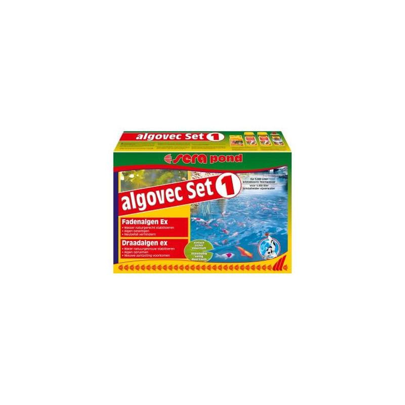 Комплект SERA POND ALGOVEC SET 1 для рыб против водорослей в пруду