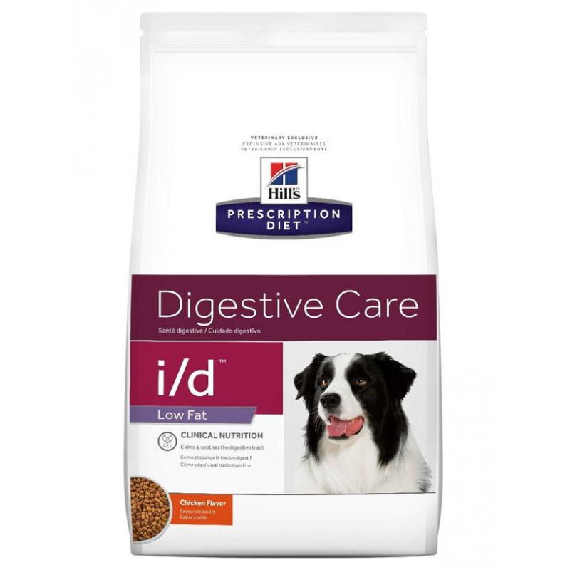 Hill's (Хиллс) Prescription Diet Canine i/d Low Fat - Диетический корм для собак с проблемами пищеварения