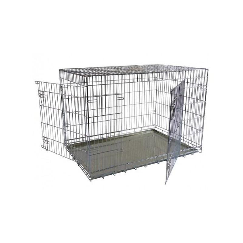 Papillon (Папилон) 2 - Клетка для собак двухдверная
