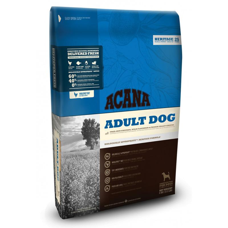 Acana Adult Dog для взрослых собак всех пород