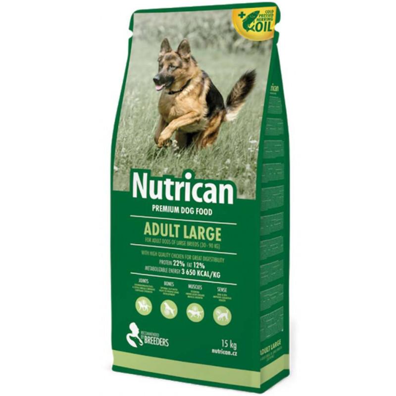 Nutrican (Нутрикан) ADULT LARGE - корм для взрослых собак крупных пород