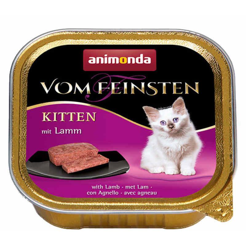 Animonda (Анимонда) Vom Feinsten Kitten - Консервированный корм в виде паштета с ягненком для котят