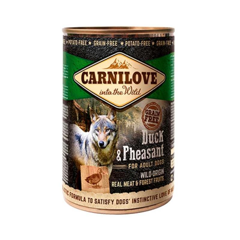 Carnilove (Карнилав ) Dog DUCK & PHEASANT Консервы для собак с уткой и фазаном