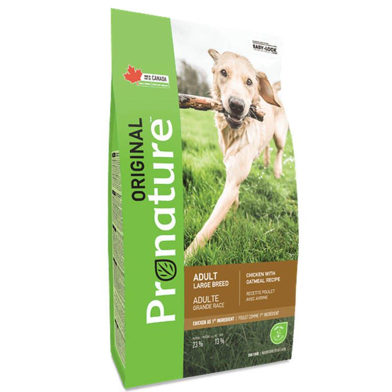 Pronature Original (Пронатюр Ориджинал) Adult Large Breed Chicken Oatmeal - Сухой корм с курицей для взрослых собак крупных пород