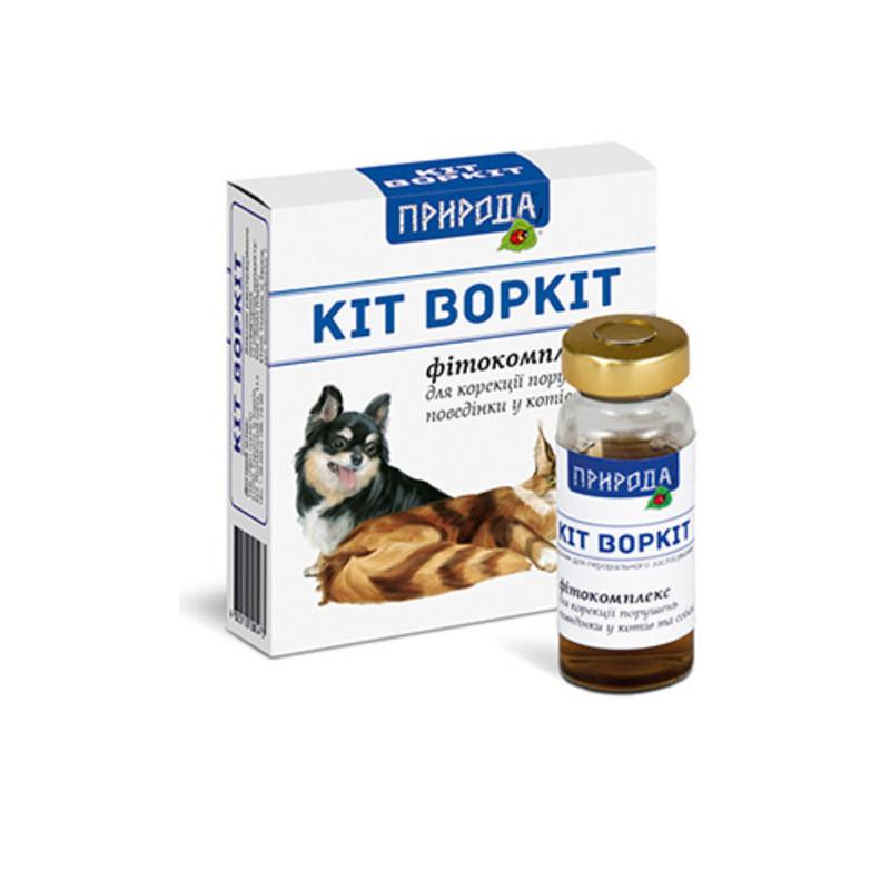 """ТМ """"Природа"""" Фитокомплекс «Кіт Воркіт»"""