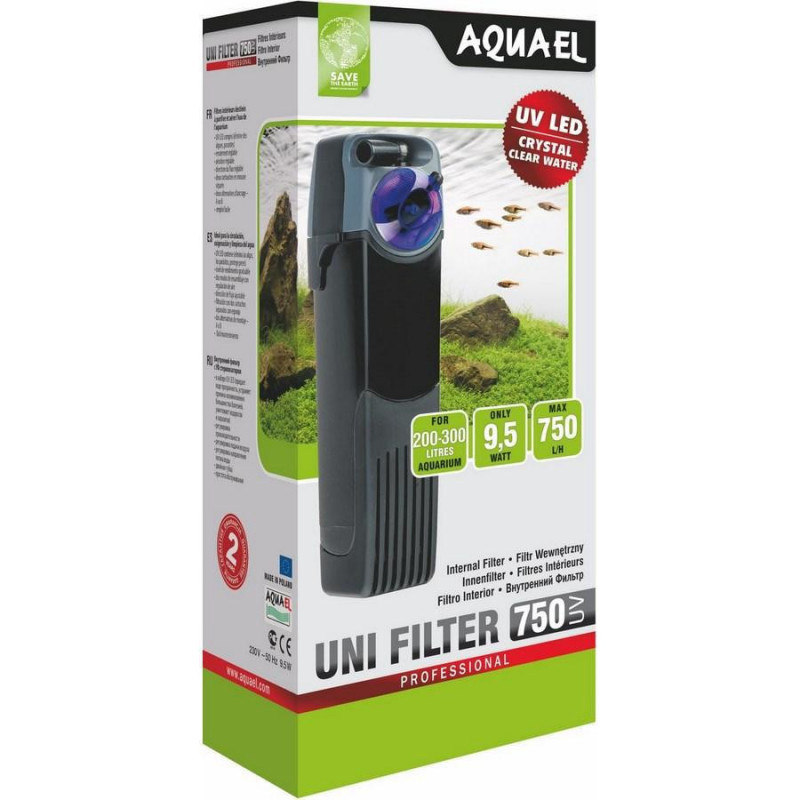 Фильтр AQUA EL UNIFILTER 750 UV для аквариума с уф-лампой