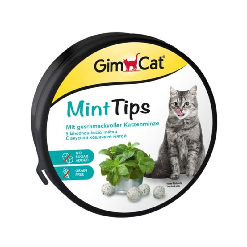 GimСat (ДжимКэт) Cat-Mintips. Витаминизированное лакомство с кошачьей мятой для кошек
