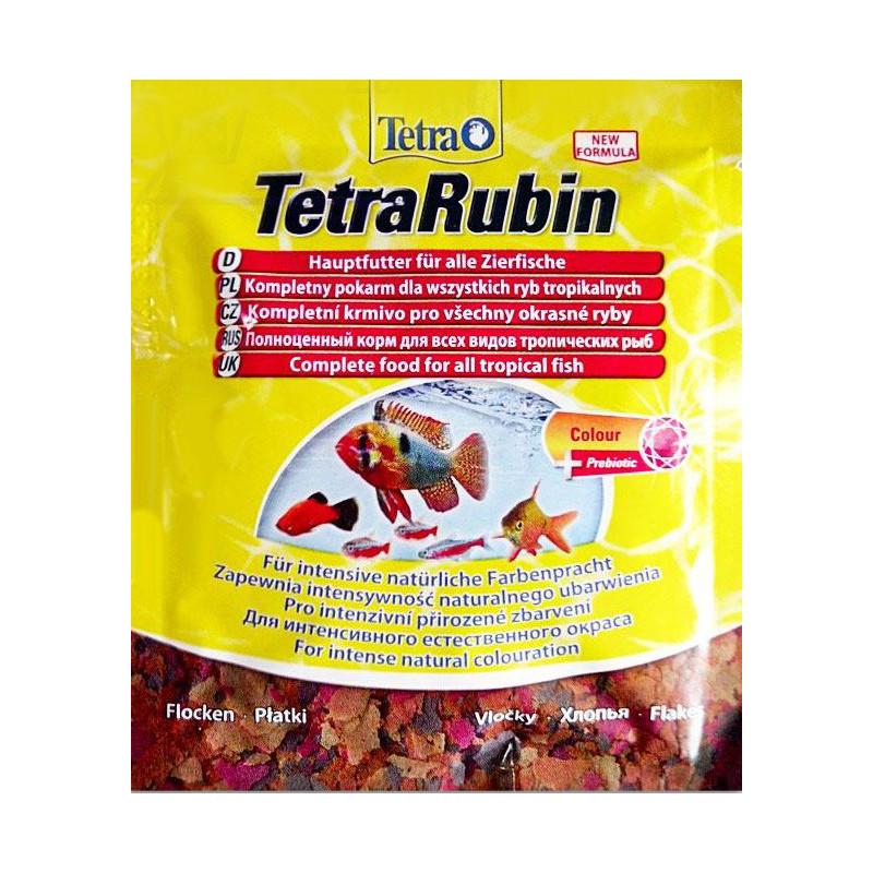 Корм TETRA RUBIN для усиления окраса аквариумных рыб