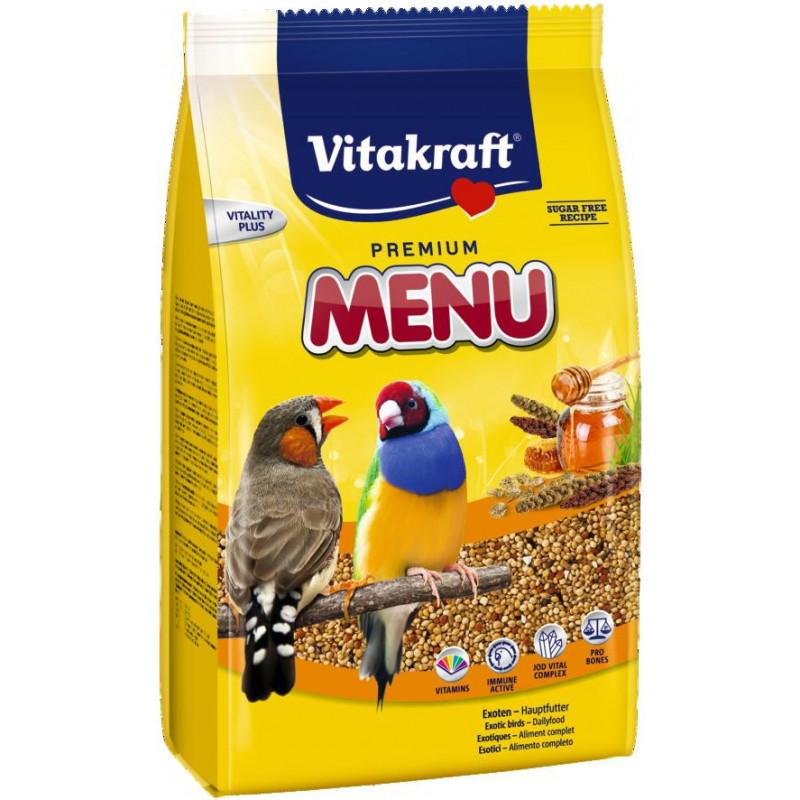 Корм VITACRAFT EXOTIC для экзотических птиц с медом