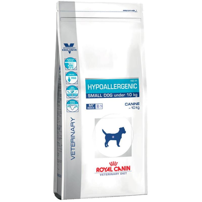 Royal Canin (Роял Канин) Hypoallergenic Small Dog Гипоаллергенная диета для собак малых пород
