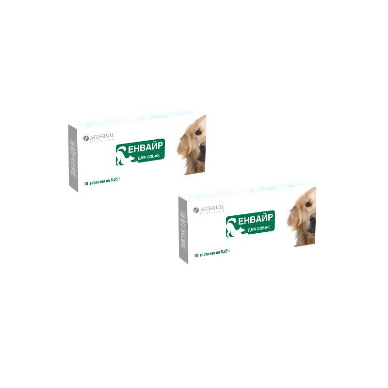 Энвайр таблетки от глистов для собак