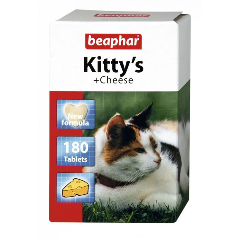 Beaphar (Бифар) Kittys Cheese - Таблетки с сыром для котов