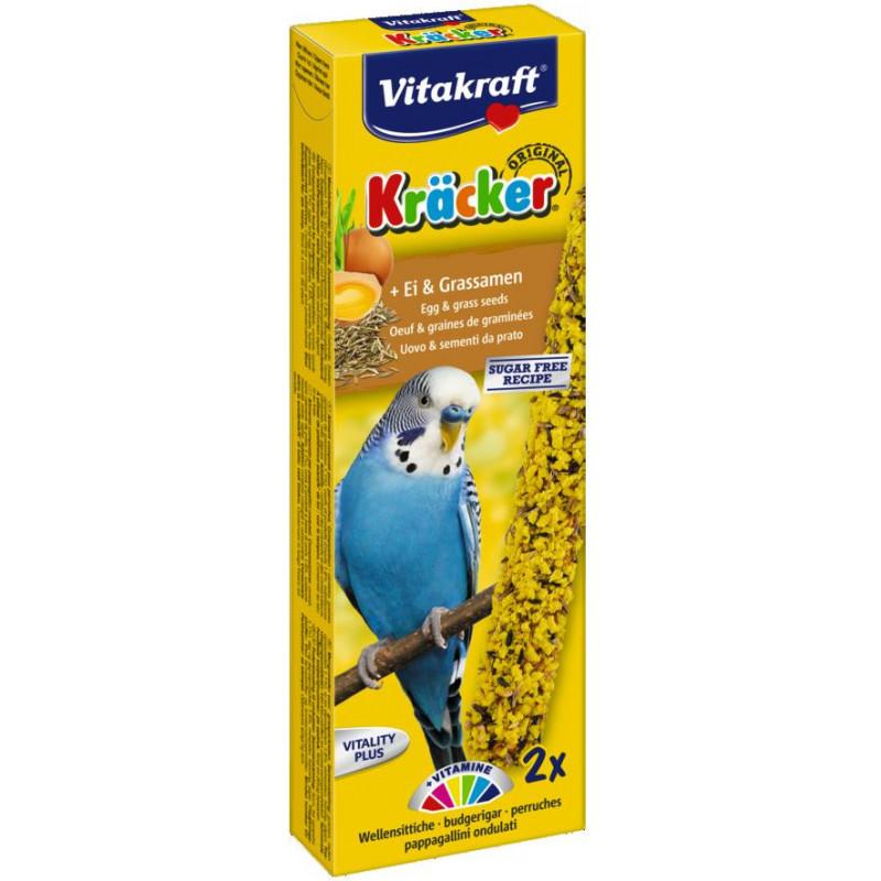 Крекер VITACRAFT для волнистых попугаев с яйцом
