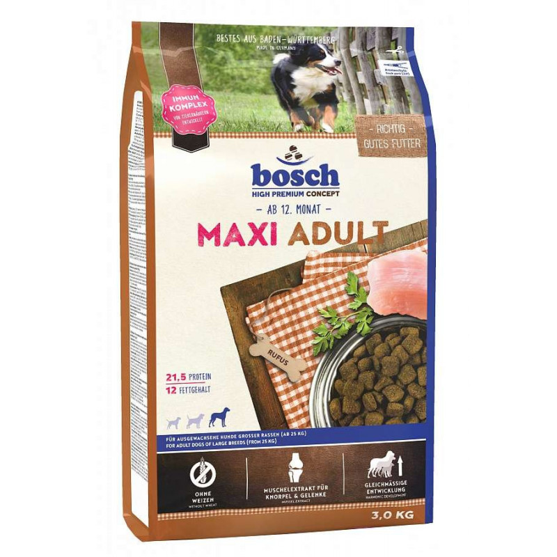 Bosch Adult Maxi для взрослых собак весом от 25 кг