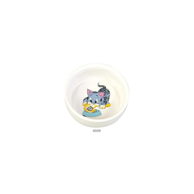 Миска Trixie Котенок керамика для кошек