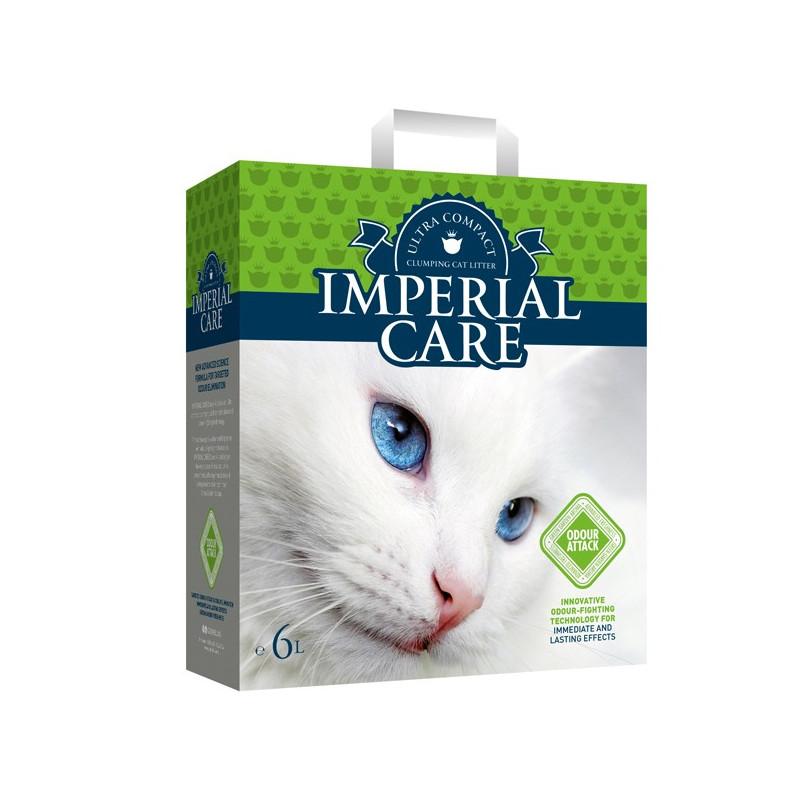 Imperial Care (Империал Кеа) Odour Attack - Наполнитель ультра-комкующийся для кошачьего туалета с ароматом летнего сада