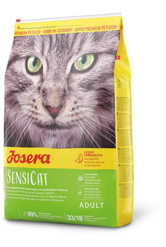 Josera (Йозера) SensiCat - Сухой корм с птицей для кошек с чувствительным пищеварением