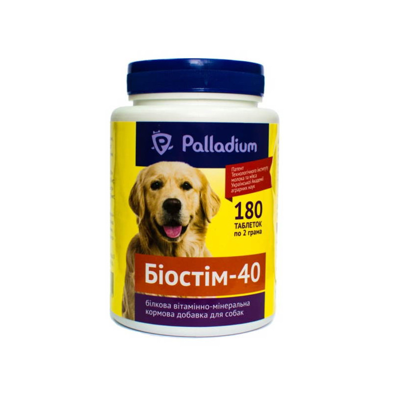 Фито Биостим 40 Белковая витаминно-минеральная добавка для собак