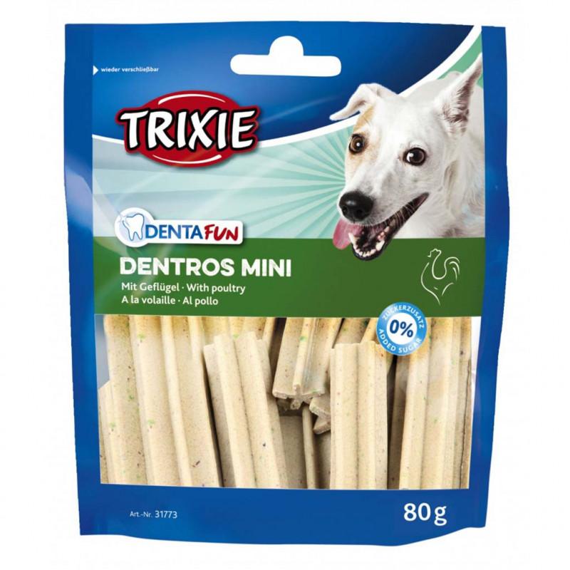 Лакомство TRIXIE Dentros Mini для собак с домашней птицей