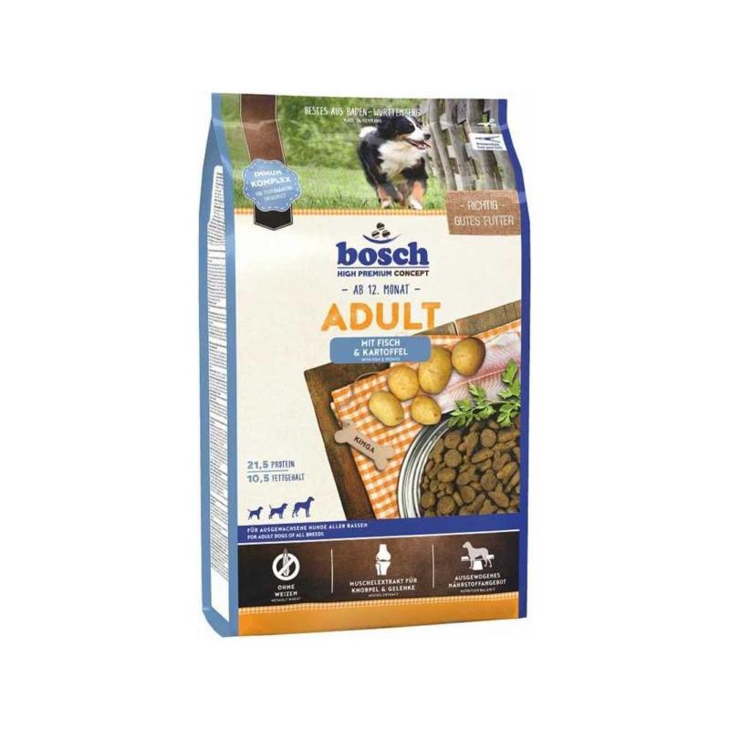 Bosch (Бош) Adult Lachs&Kartoffel - Сухой корм с лососем и картофелем для собак