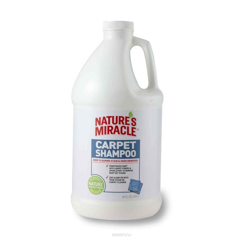 Nature's Miracle (Нейчерс Миракл) Carpet Shampoo Шампунь для чистки ковров и мягкой мебели