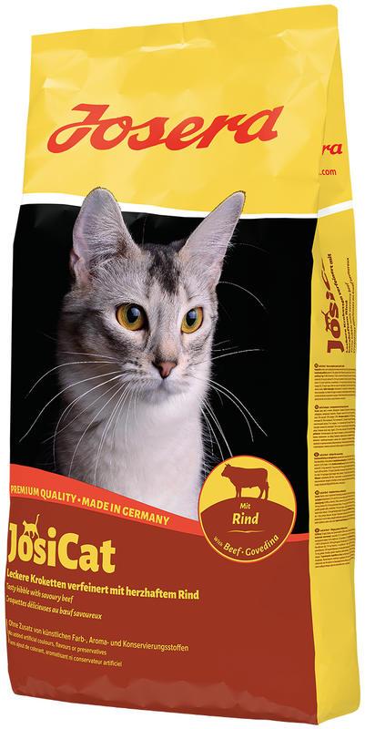 JosiCat (ЙозиКэт) by Josera Rind. Сухой корм с говядиной для котов