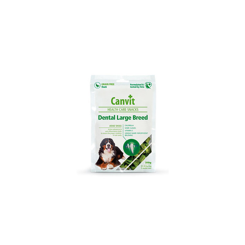 Лакомство-уход за зубами CANVIT Dental  Large Breed для больших пород собак