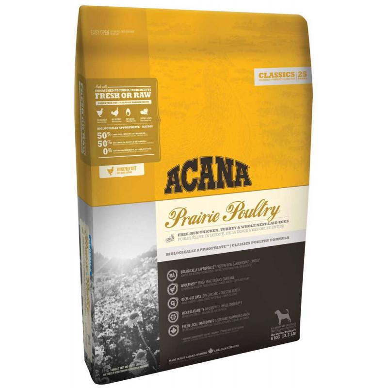 Acana (Акана)   PRAIRIE POULTRY для собак цыпленок и индейка