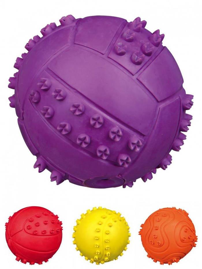 Trixie (Трикси) Мяч резиновый с пищалкой - Фото 3